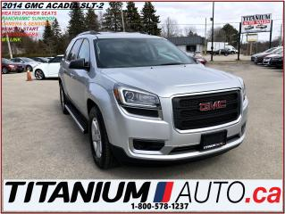 Used 2014 GMC Acadia SLE-2+Pano Roof+DVD+Camera & Sensors+Remote Start+ for sale in London, ON