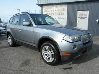 Used 2007 BMW X3 ***AUTOMATIQUE, SIÈGES CHAUFFANTS*** for sale in Longueuil, QC