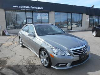 Used 2010 Mercedes-Benz E350 4MATIC ** TOIT PANORAMIQUE ** for sale in Saint-hubert, QC