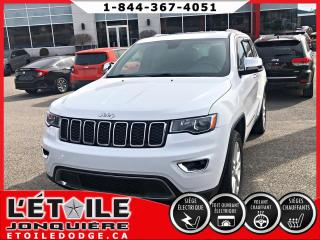 Used 2017 Jeep Grand Cherokee 4X4 LIMITED GPS, DÉMARREUR A DISTANCE for sale in Jonquière, QC