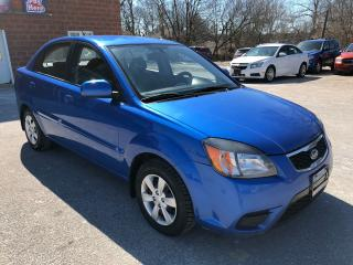 Used 2010 Kia Rio ONE OWNER/CERTIFIED/WARRANTY INCLUDED for sale in Cambridge, ON