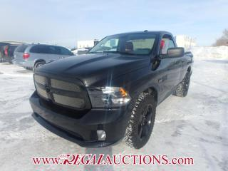 Used 2016 RAM 1500 ST REG CAB SWB 4WD 5.7L for sale in Calgary, AB