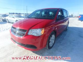 Used 2015 Dodge GRAND CARAVAN CVP WAGON 7PASS 3.6L for sale in Calgary, AB