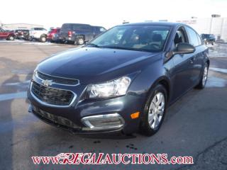 Used 2015 Chevrolet CRUZE 1LS 4D SEDAN 1.8L for sale in Calgary, AB
