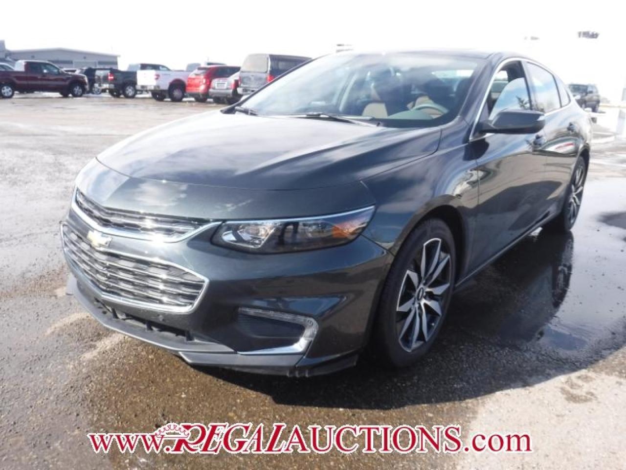 Photo of Grey 2017 Chevrolet MALIBU LT 4D SEDAN 1.5L