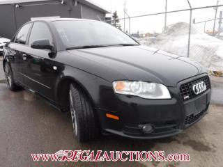 Used 2008 Audi A4 3.2L QUATTRO 4D SEDAN QTRO AWD for sale in Calgary, AB