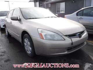 Used 2004 Honda Accord 4D Sedan for sale in Calgary, AB