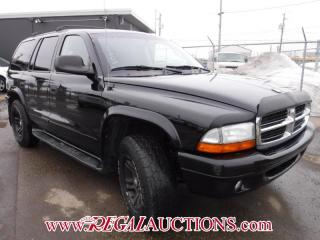 Used 2003 Dodge DURANGO SLT 4D UTILITY 4WD for sale in Calgary, AB