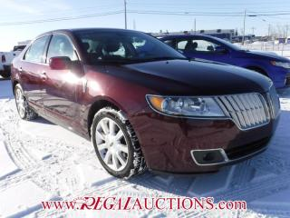 Used 2012 Lincoln MKZ  4D SEDAN AWD for sale in Calgary, AB