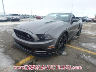 Used 2014 Ford MUSTANG GT 2D CONVERTIBLE 5.0L for sale in Calgary, AB