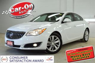 Used 2016 Buick Regal TURBO AWD LEATHER NAV SUNROOF HTD SEATS REAR CAM for sale in Ottawa, ON