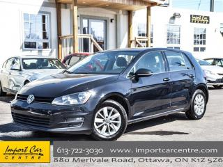 Used 2015 Volkswagen Golf Trendline 2.0 TDI RARE 6 SPEED HEATED SEATS ALLOYS for sale in Ottawa, ON