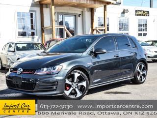 Used 2016 Volkswagen Golf GTI Autobahn for sale in Ottawa, ON