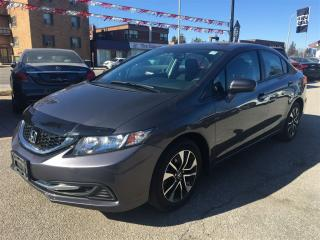 Used 2015 Honda Civic EX**LOW KMS**BLUETOOTH**BACK-UP CAM**LANE-WATCH** for sale in Mississauga, ON