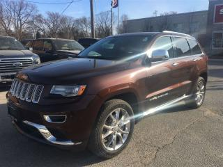 Used 2014 Jeep Grand Cherokee Summi**BLND SPOT MONITOR**NAV**PANO ROOF** for sale in Mississauga, ON