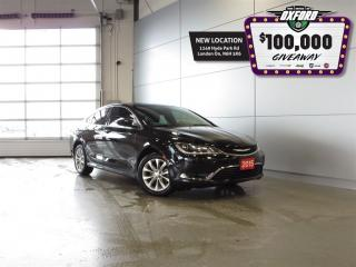 Used 2015 Chrysler 200 Limited - Remote Start, Back Up Cam, Heated Seats for sale in London, ON