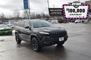 Used 2017 Jeep Cherokee Trailhawk - 4x4, GPS, Bluetooth, Heated Seats for sale in London, ON