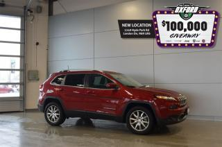 Used 2017 Jeep Cherokee Limited - 4x4, Sunroof, Back Up Cam, Ventilated Se for sale in London, ON