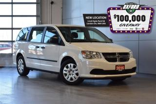 Used 2016 Dodge Grand Caravan SE - Cruise, CD, Air, 7 passenger for sale in London, ON