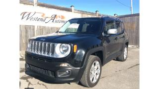 Used 2017 Jeep Renegade Limited  29000 Kms for sale in Stittsville, ON