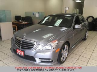 Used 2013 Mercedes-Benz E350 4MATIC | NAVIGATION | CAMERA | BLIND | LDW for sale in Kitchener, ON