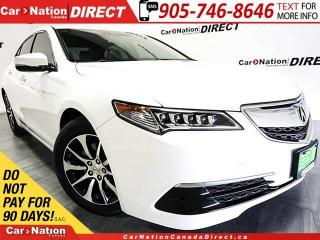 Used 2015 Acura TLX Tech| SUNROOF| NAVI| LEATHER| for sale in Burlington, ON