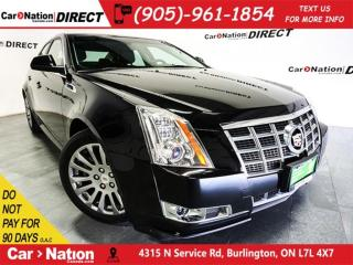 Used 2013 Cadillac CTS | LEATHER| BACK UP CAMERA| OPEN SUNDAYS| for sale in Burlington, ON
