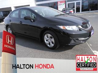 Used 2015 Honda Civic LX|ACCIDENT FREE|SERVICE HISTORY ON FILE for sale in Burlington, ON