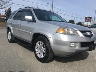 Used 2006 Acura MDX Touring . One Owner . No Accidents. 7 Seater for sale in North York, ON