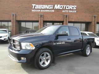 Used 2012 Dodge Ram 1500 SPORT | CREW | LEATHER | SUNROOF |NAVIGATION | for sale in Mississauga, ON
