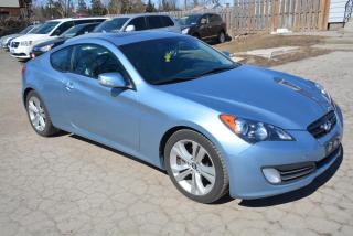 Used 2010 Hyundai Genesis Coupe 3.8 Auto, leather, moonroof for sale in Hornby, ON