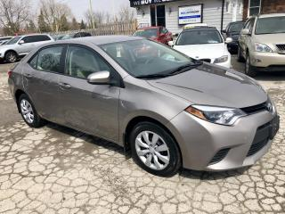 Used 2014 Toyota Corolla LE, auto, heated seats, back up camera for sale in Hornby, ON