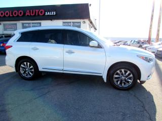Used 2014 Infiniti QX60 AWD Navigation Camera Certified Warranty for sale in Milton, ON