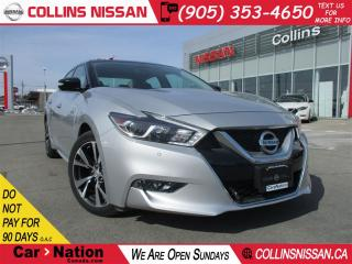 Used 2016 Nissan Maxima Platinum | ALLOYS | NAVI | HTD COOLED SEATS for sale in St Catharines, ON
