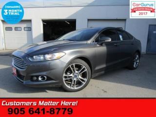 Used 2015 Ford Fusion Titanium  AWD NAV LEATHER ROOF COOLED-SEATS CAMERA MEMORY for sale in St Catharines, ON
