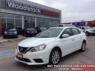 Used 2016 Nissan Sentra 1.8 SV  - Bluetooth -  Heated Seats - $117.24 B/W for sale in Woodstock, ON