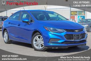 Used 2017 Chevrolet Cruze LT | SUNROOF | REAR-VIEW CAMERA for sale in Scarborough, ON