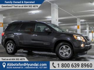 Used 2008 GMC Acadia SLE GREAT CONDITION & LOW KILOMETRES for sale in Abbotsford, BC