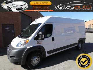 Used 2017 RAM 2500 ProMaster HIGHROOF| 159WB| REAR WINDOWS for sale in Woodbridge, ON