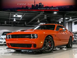 Used 2017 Dodge Challenger ***SOLD***SRT|HELLCAT|6 SPEED|707HP|SUNROOF|BLINDSPOT|LAUNCH|LOADED for sale in North York, ON