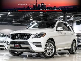 Used 2015 Mercedes-Benz ML 350 NAVI|BLINDSPOT|360CAM|PANO|BLUETEC|LOADED for sale in North York, ON