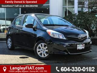 New 2012 Toyota Yaris LE B.C OWNED! for sale in Surrey, BC