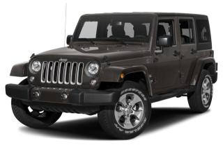 New 2018 Jeep Wrangler JK Unlimited Sahara for sale in Abbotsford, BC