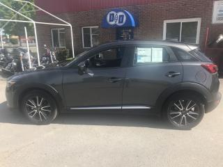 Used 2018 Mazda CX-3 GT AWD !!! ONLY 800KM !!! for sale in Kingston, ON