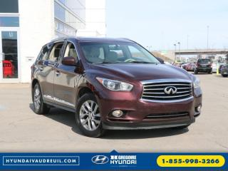 Used 2014 Infiniti QX60 Awd Bluetooth Toit for sale in Vaudreuil-dorion, QC