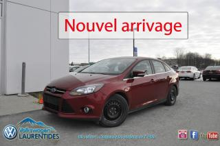 Used 2013 Ford Focus TITANIUM*GPS*MAGS*CUIR* for sale in Saint-jerome, QC