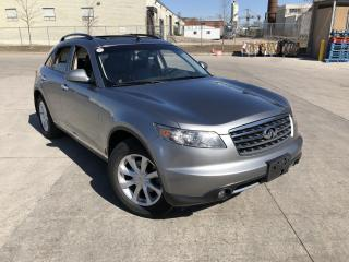 Used 2006 Infiniti FX35 AWD, Low km, Camera, 3/Y warranty availab for sale in North York, ON