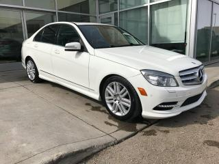 Used 2011 Mercedes-Benz C-Class ALL WHEEL DRIVE/NAVIGATION/HEATED SEATS for sale in Edmonton, AB
