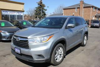 Used 2016 Toyota Highlander LE AWD for sale in Brampton, ON