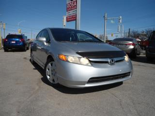 Used 2006 Honda Civic LX AUTO 4DR POWER WINDOWS LOCKS MIRRORS CRUISE A/C for sale in Oakville, ON